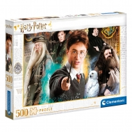 Harry Potter - Puzzle Harry at Hogwarts (500 pièces)