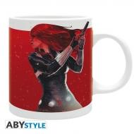 Marvel - Mug Black Widow enflammée