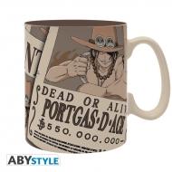 One Piece - Mug Wanted Ace