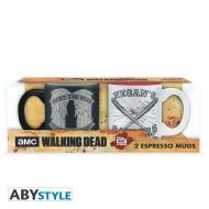 The Walking Dead - Set 2 mugs à espresso Daryl VS Negan