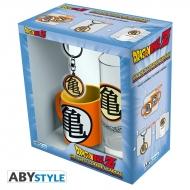 Dragon Ball - Pack Verre 29cl + Keyring + Mini Mug Kame Symbol