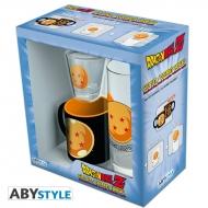 Dragon Ball - Pack Verre 29cl + Shooter + Mini Mug Boule de cristal