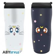 Sailor Moon - Mug de voyage Luna & Artemis