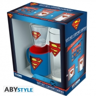 DC Comics - Pack Verre 29cl + Shooter + Mini Mug Superman