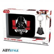 Star Wars - Pack new Wallet + Keyring Dark Vador