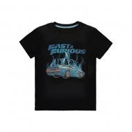 Fast & Furious - T-Shirt Blue Flames