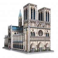 Wrebbit Castles & Cathedrals - Puzzle Collection 3D Notre-Dame de Paris (830 pièces)