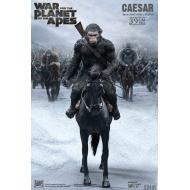 La Planète des singes : Suprématie - Statuette Soft Vinyl Caesar with Gun 39 cm