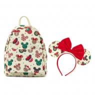Disney - Set sac à dos et serre-tête POP! M&M Christmas Cookiesby Loungefly