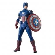 Avengers - Figurine S.H. Figuarts Captain America (Avengers Assemble Edition) 15 cm