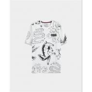 Harry Potter - T-Shirt Heraldic Animals AOP