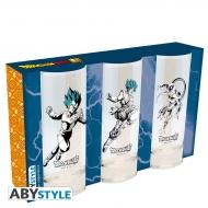 Dragon Ball Super - Set de 3 verres