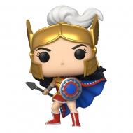 WW 80th - Figurine POP!  Wonder Woman (Challenge Of The Gods) 9 cm