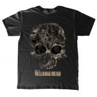 Walking Dead - T-Shirt Skull