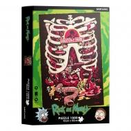 Rick et Morty - Puzzle Anatomy Park 1000 pièces