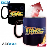 Retour Vers Le Futur - Mug Heat Change Time Machine