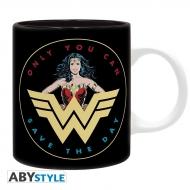 DC Comics - Mug Wonder Woman rétro
