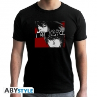 Death Note - Tshirt I am Justice Fit