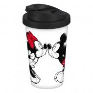 Disney - Mug de voyage Mickey Kiss Sketch
