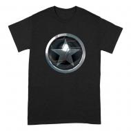 Le Faucon et le Soldat de l'Hiver - T-Shirt Star Emblem