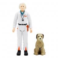Retour vers le futur - Figurine ReAction Doc Brown 10 cm