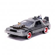 Retour vers le Futur III - Réplique métal DeLorean Time Machine 1/24 Hollywood Rides
