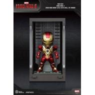 Iron Man 3 - Figurine Mini Egg Attack Hall of Armor Iron Man Mark XVII 8 cm