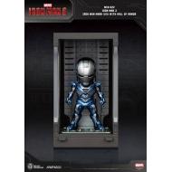 Iron Man 3 - Figurine Mini Egg Attack Hall of Armor Iron Man Mark XXX 8 cm