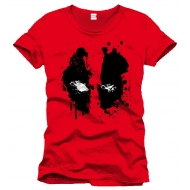 Marvel Comics - Deadpool - T-Shirt Splash Head
