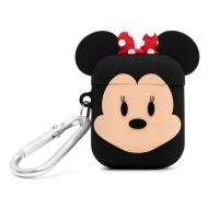 Disney - Etui pour boîtier AirPods PowerSquad Minnie Mouse