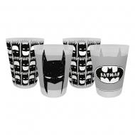 DC Comics - Pack 4 gobelets Batman