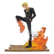 One Piece - Statuette Log File Selection -Fight- Sanji 15 cm