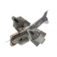 Evangelion : 3.0 - Figurine Plastic Model Kit 1/100 Vertical Take-Off & Landing Aircraft YAGR-N101 19
