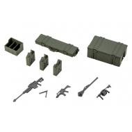 Hexa Gear - Accessoire pour figurines Plastic Model Kit 1/24 Army Container Set 8 cm