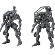 OBSOLETE - Figurine Plastic Model Kit Moderoid 1/35 Multi-Purpose EXOFRAME (Gray) 9 cm