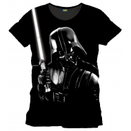 Star Wars - T-Shirt Silver Darth Vader