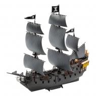 Pirates des Caraïbes La Vengeance de Salazar - Maquette Easy-Click 1/150 Black Pearl 26 cm
