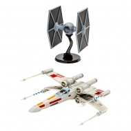 Star Wars - Kit complet maquette 1/57 X-Wing Fighter & 1/65 TIE Fighter
