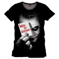 Batman - T-Shirt Why So Serious