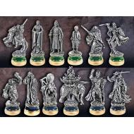 Le Seigneur des Anneaux - Set de pièces de jeu d'échecs Le Retour du Roi