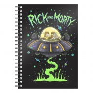 Rick & Morty - Cahier Space Ship