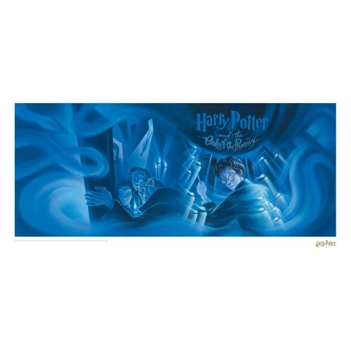 Harry Potter - Lithographie Order of the Phoenix Book Cover Artwork Limited Edition 42 x 30 cm