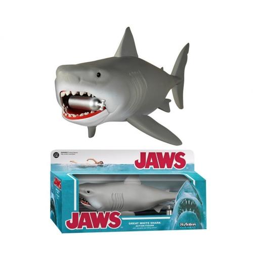 Les Dents de la Mer - Figurine ReAction Great White Shark 24 cm