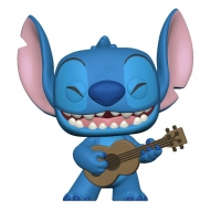 Lilo & Stitch - Figurine POP! Stitch w/Ukelele 9 cm