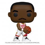 NBA - Figurine POP! Hakeem Olajuwon (Rockets Home) 9 cm