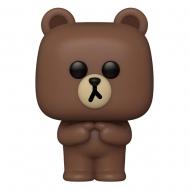 Line Friends - Figurine POP! Brown 9 cm