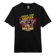 Mortal Kombat - T-Shirt Choose Fighter