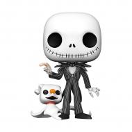 L'étrange Noël de Mr. Jack - Figurine POP! Super Sized Jack w/Zero 25 cm