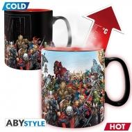 Marvel - Mug Heat Change Héros Marvel 460 ml