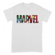 Marvel - T-Shirt  Logo Characters